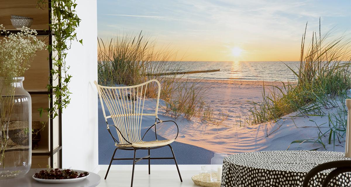 VLIES FOTOTAPETE XXL TAPETE Strand Meer Sand NATUR 8638